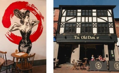 The Old Dancer, Wilmslow