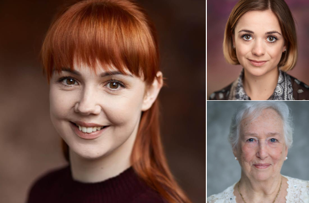 No Weaver nor Woman at Hope Mill Theatre, 2/10/2018: Antonia Whitehead as Catherine Chisholm, Pat Brocklehurst as Fish Maggie and Cat Morefield as Rose